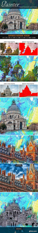 GraphicRiver - Painter Photoshop Action 25779833
