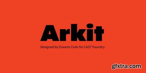Arkit Font Family