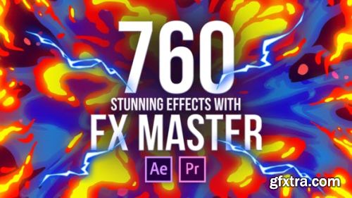 Videohive FX Master - Cartoon Action Elements 26021811