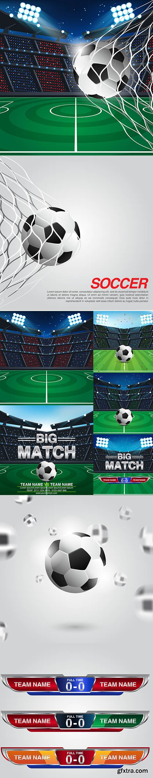 Abstract Sport Soccer Backgrounds