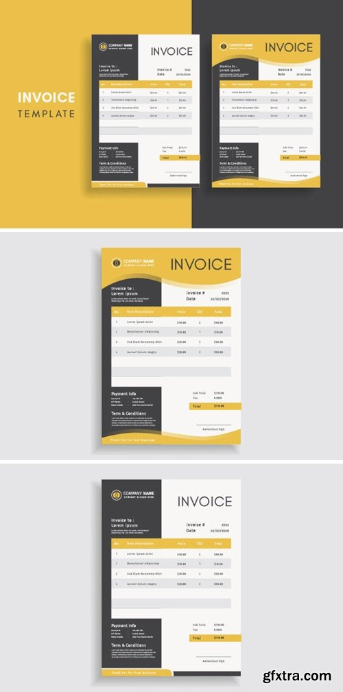 Invoice Template for Your Business 3708344