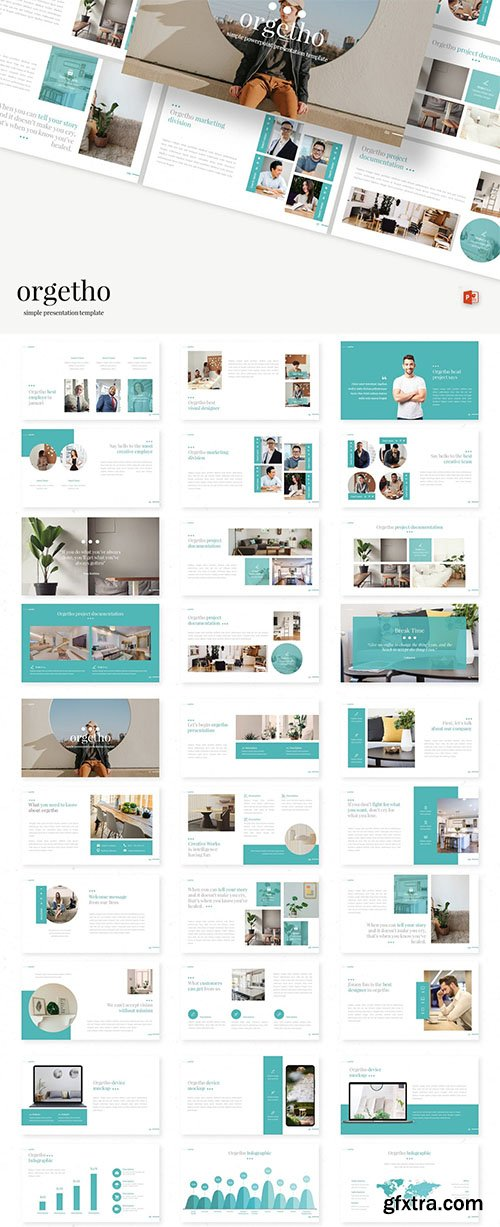 Orgetho - Powerpoint, Keynote and Google Slide Template
