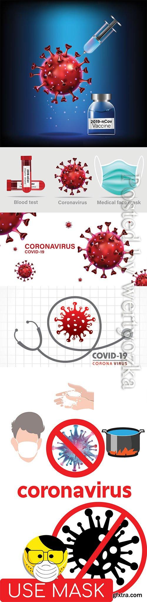 Concept for Covid-19 Corona virus
