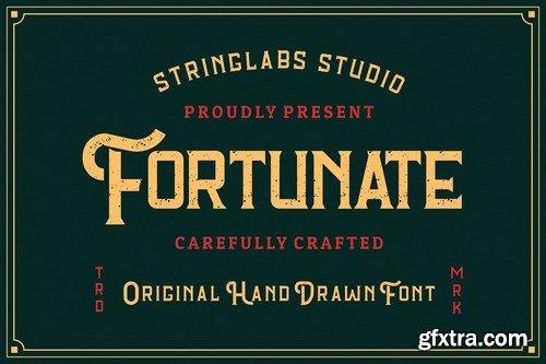 CM - Fortunate - Original Hand Drawn Font 4645619