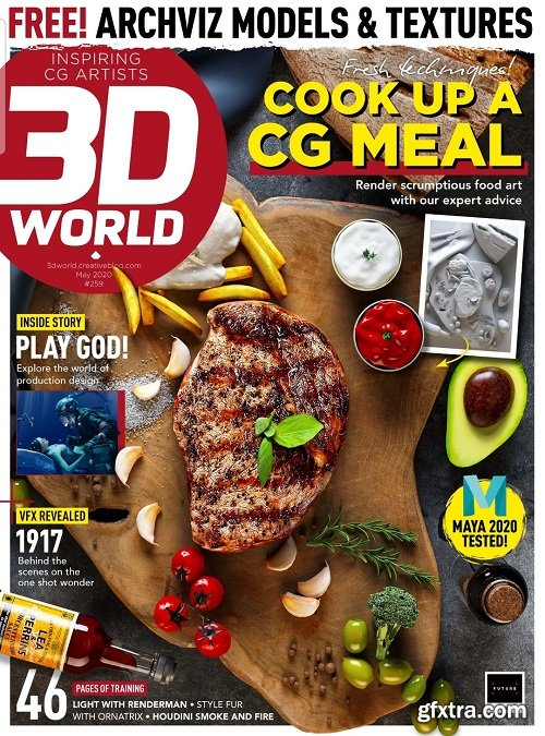 3D World - Issue 258, May 2020