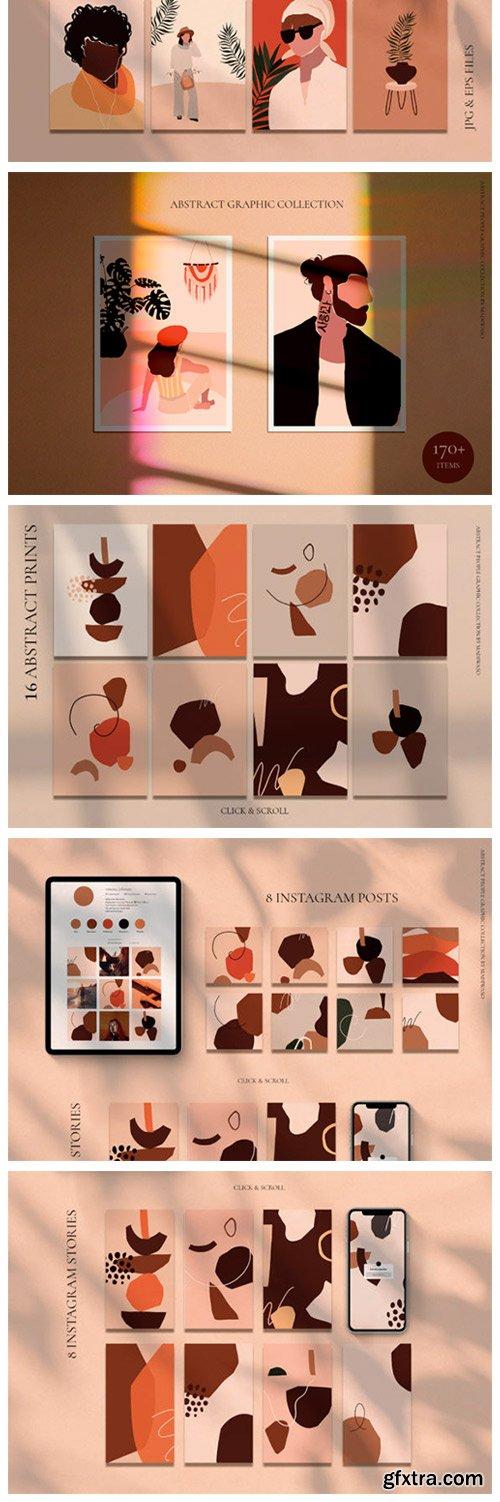 Abstract People Prints Modern Art 3698024