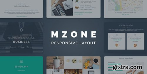 ThemeForest - Mzone v1.0 - Responsive Newsletter Email Template For Business - 26104041
