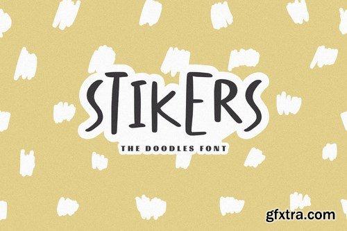 Stikers - The Doodles Font