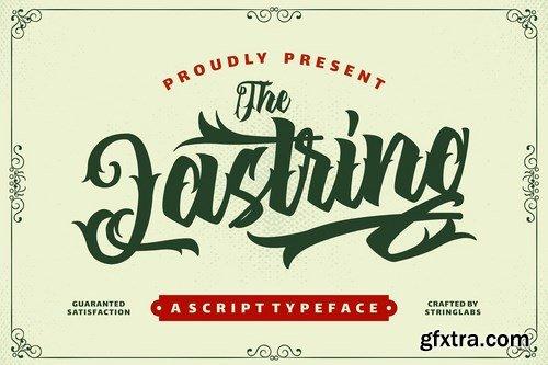 CM - The Lastring - Tattoo Script Font 4727652