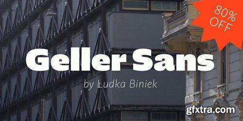 Geller Sans Font Family