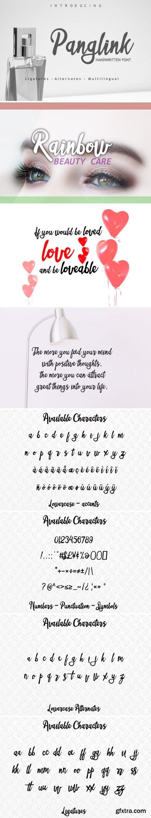 Panglink Font