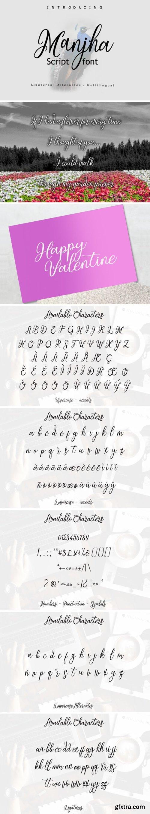 Manjha Font