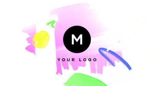 Videohive - Hand Drawn Brush Logo