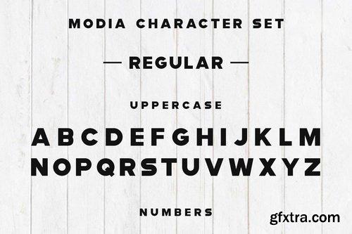 CM - Modia Font Family - Sans Serif - 3246646