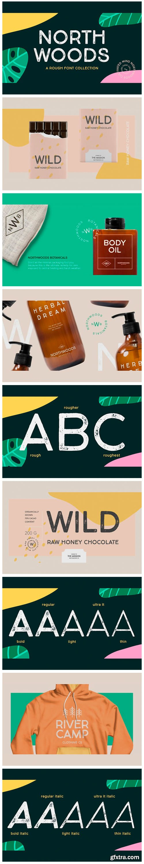 Northwoods Font Family