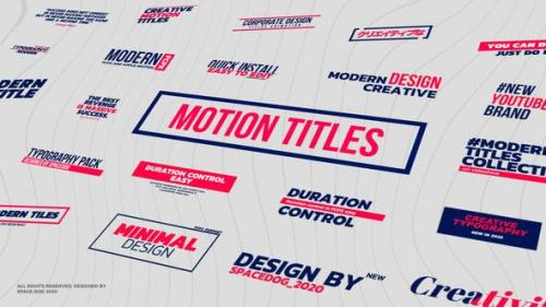 Videohive - Motion Titles & Lower Thirds | FCPX