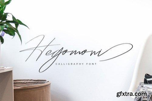 Hegomoni Signature