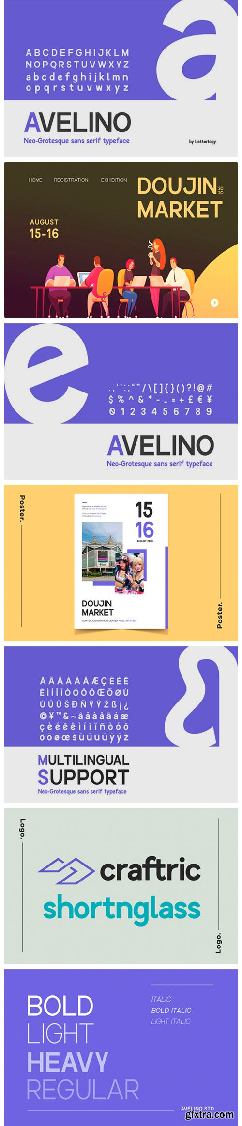 Avelino MTL Font Family