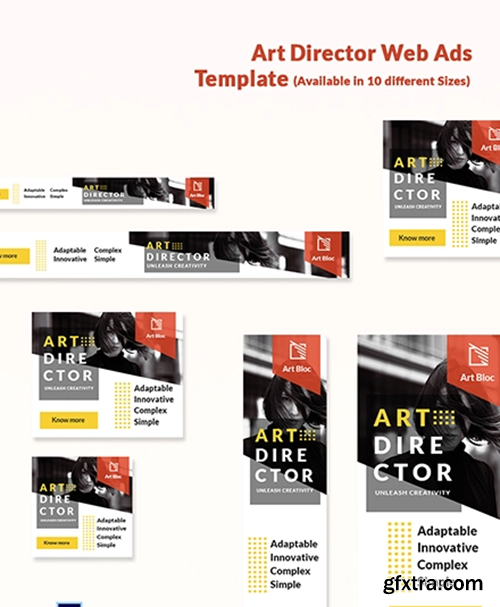Art-Director-Web-Ad-Banner-Template