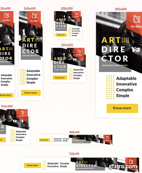 Editable-Art-Director-Web-Ad-Banner