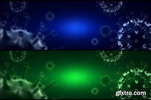 Coronavirus ( Covid 19 ) Background - Ver2