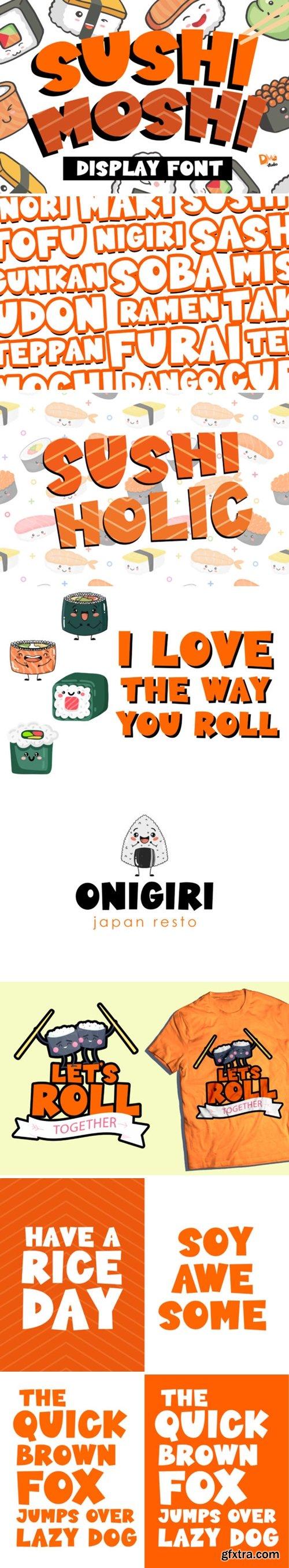 Sushi Moshi Font