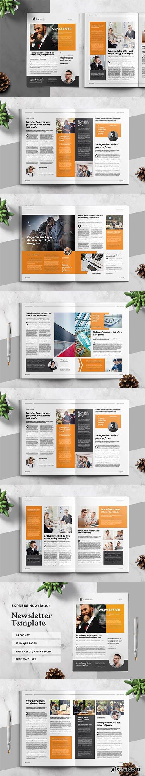 Express Business Newsletter Template