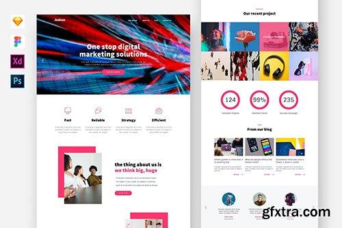 Beken- Digital Agency Website Template