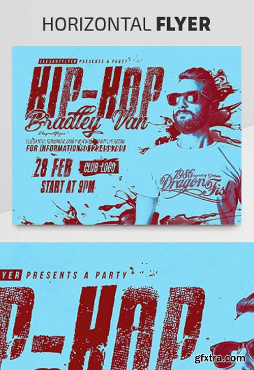 Hip-Hop Artist V2003 2020 Premium PSD Flyer Template