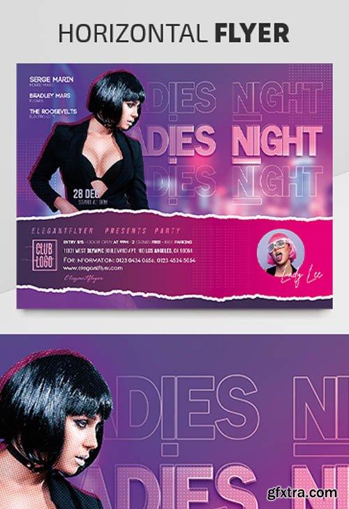 Ladies Night V2003 2020 Premium PSD Flyer Template