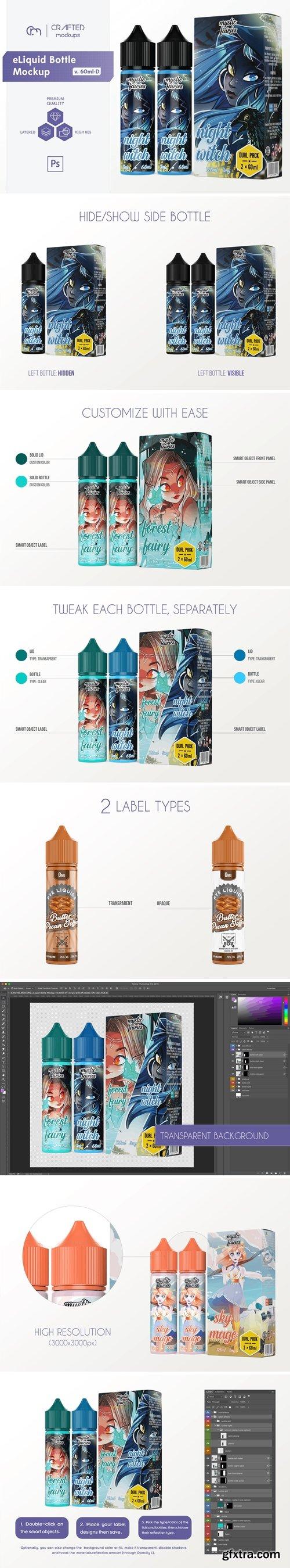 CreativeMarket - eLiquid Bottle Mockup v. 60ml-D 4081178