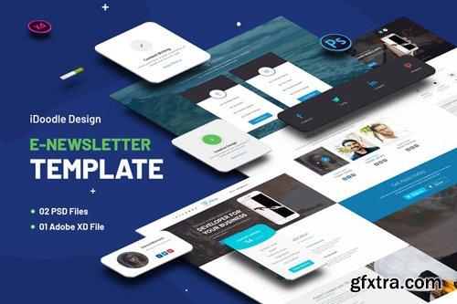 Multipurpose E-newsletter Template - 9TKWZLB