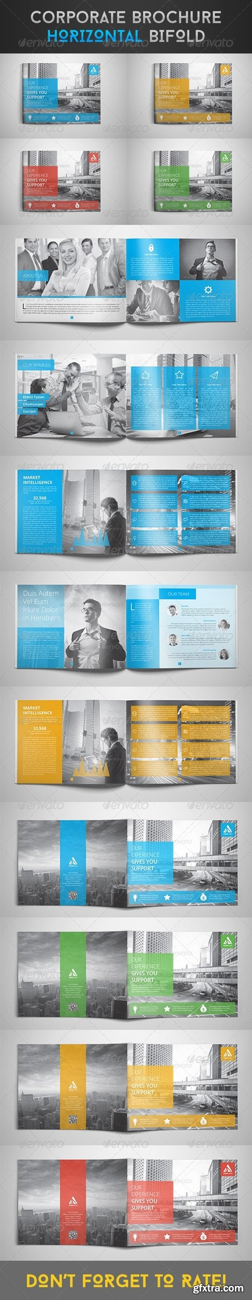 GraphicRiver - Corporate Brochure - Horizontal Bi-Fold 8124753