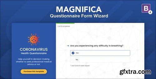 ThemeForest - Magnifica v1.0 - Questionnaire Form Wizard - 26138566