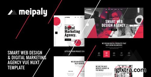 ThemeForest - Meipaly v1.0 - Vue Nuxt Digital Services Agency Template - 26139135
