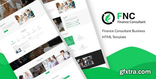 ThemeForest - FNC v1.0 - Finance & Consulting, Accounting HTML Template (Update: 19 March 20) - 21449406