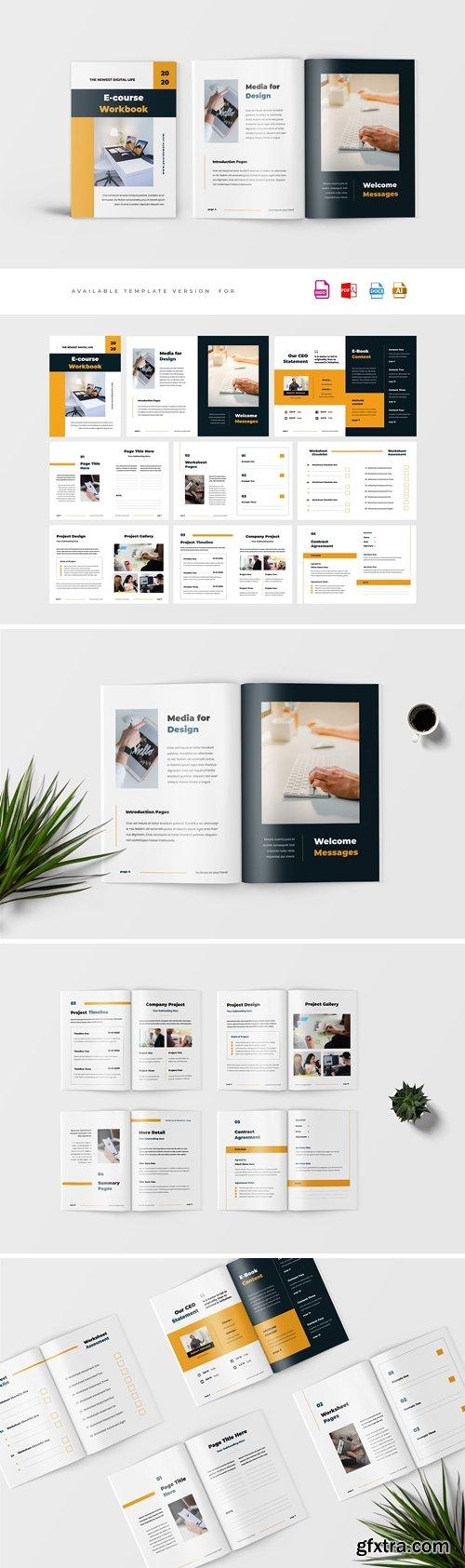 CreativeMarket - eCourse Workbook Template 4084778