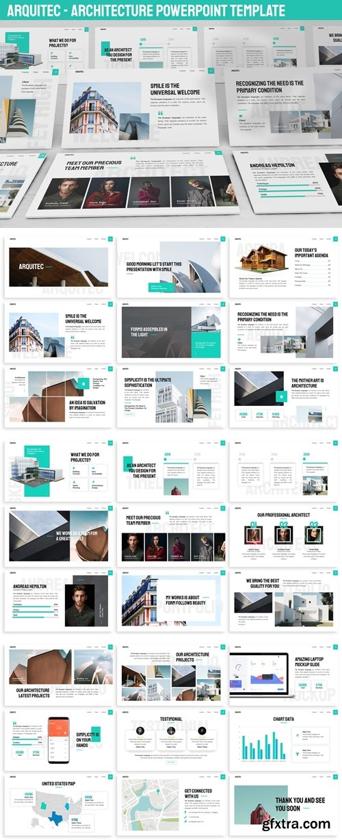 Arquitec - Architecture Powerpoint Template