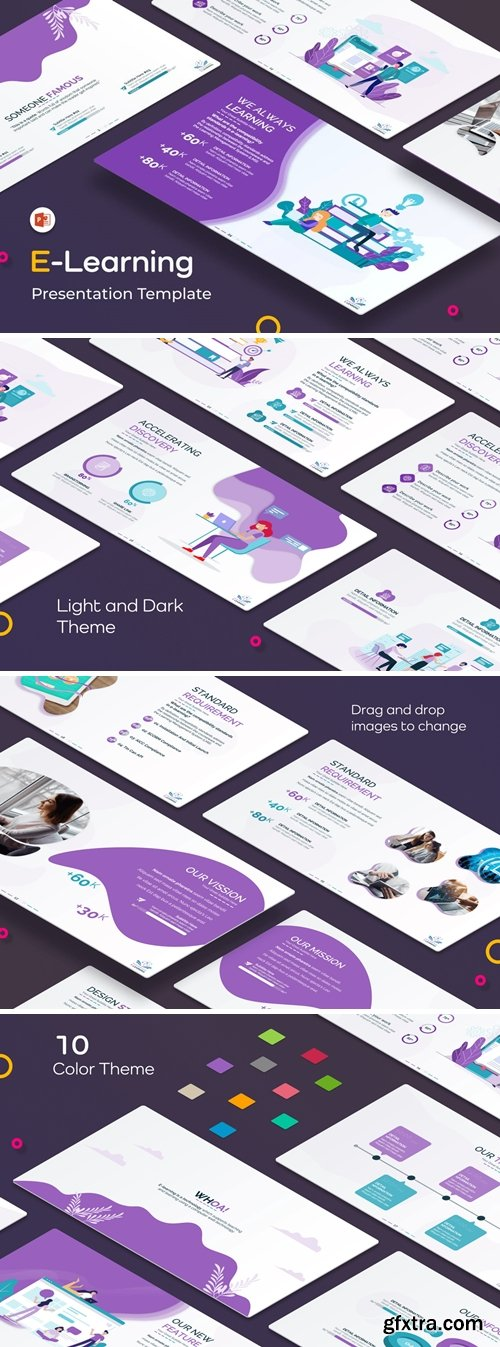 E-Learning PowerPoint Presentation Template