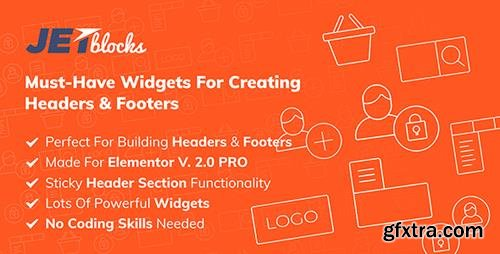 JetBlocks v1.2.1 - The Must-Have Headers & Footers Widgets For Elementor