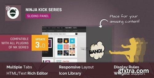 CodeCanyon - WordPress Off-Canvas Sliding Panel - Ninja Kick v3.0.13 - 6796296