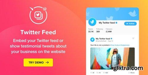 CodeCanyon - Twitter Feed v1.4.1 - WordPress Twitter Plugin - 22951909