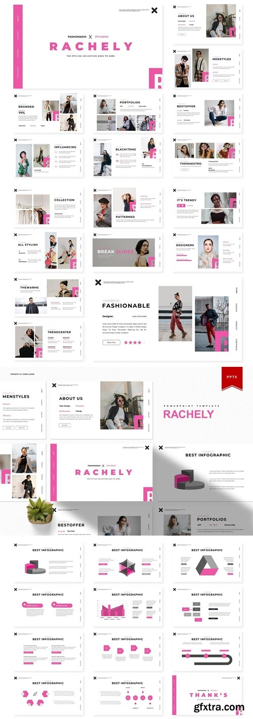Rachely Powerpoint, Keynote and Google Slides Templates