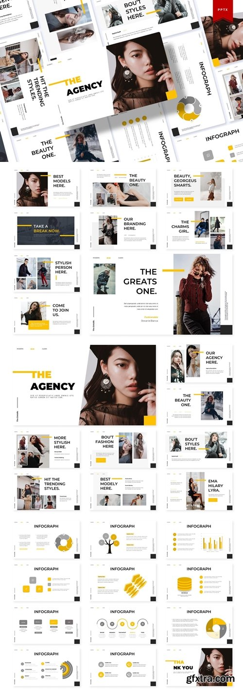 The Agency Powerpoint, Keynote and Google Slides Templates