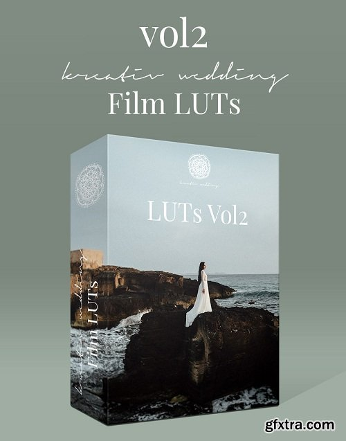 Kreativ Wedding LUTs Collection Updated (Win/Mac)