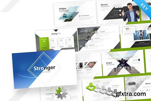 Stronger Keynote Presentation Template