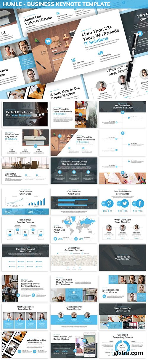 Humle - Business Keynote Template