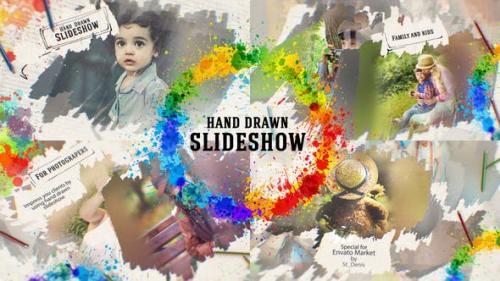 Videohive - Hand Drawn Slideshow