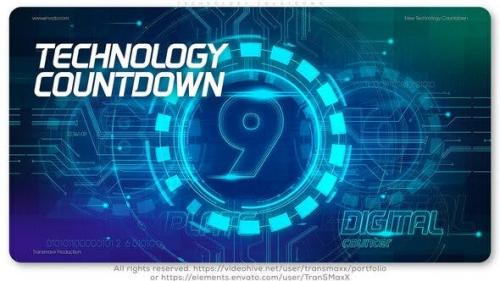 Videohive - Technology Countdown