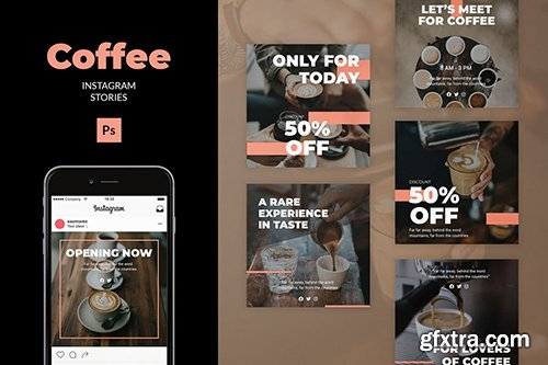 Coffee - Instagram Feed Post Template